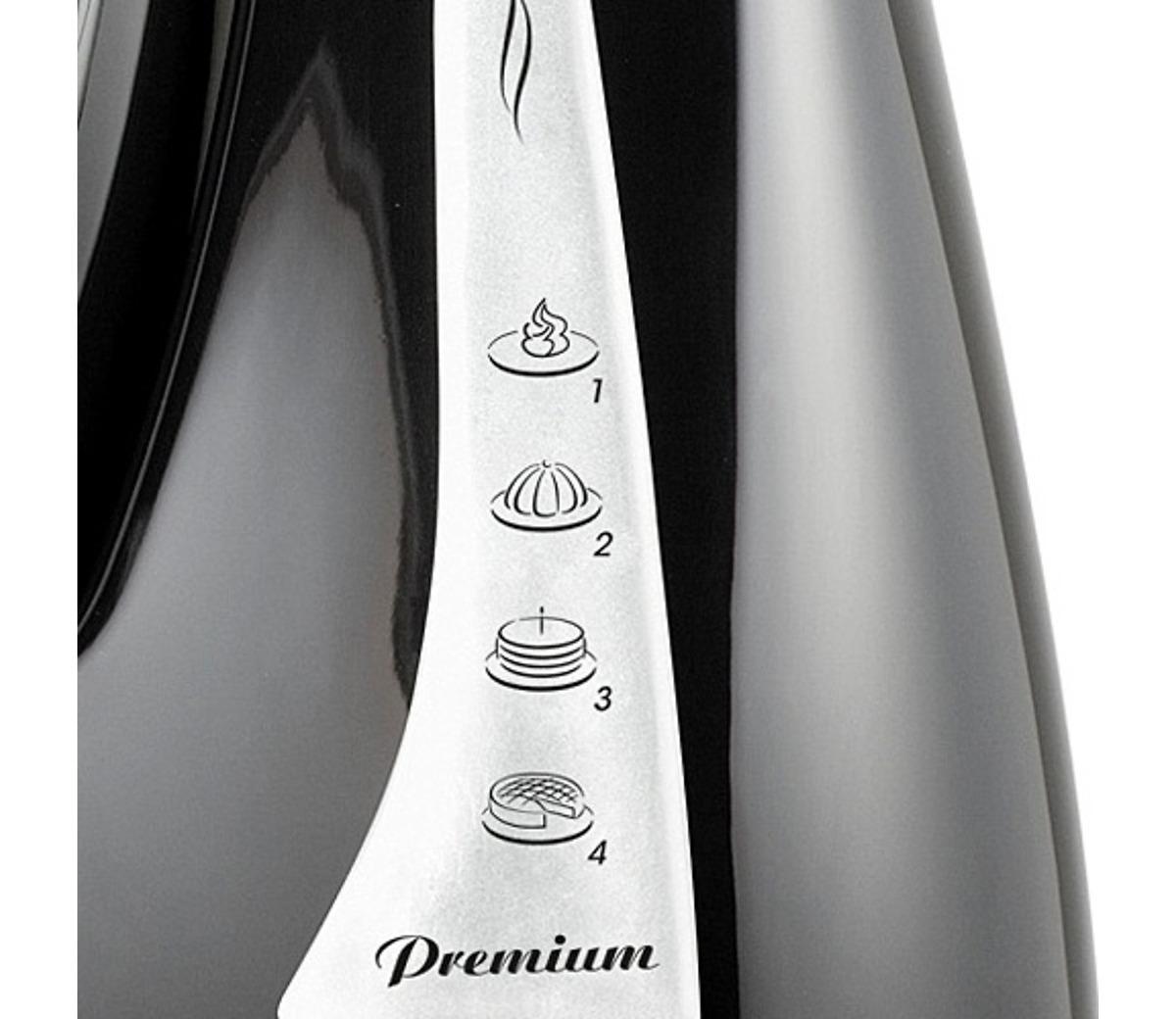 Batedeira Mondial Premium B-04 Preta 127V  - ShopNoroeste.com.br
