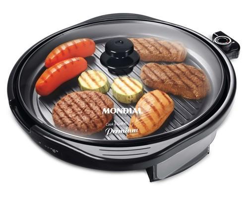 Grill Mondial G-04 Redondo Smart Grill 127V  - ShopNoroeste.com.br