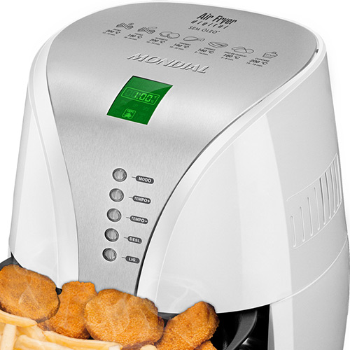 Fritadeira Sem Óleo Air Fryer Digital Premium AF-02 220V - Mondial  - ShopNoroeste.com.br
