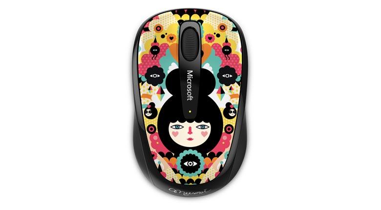 Mouse Wireless Mobile 3500 Artist Muxxi - GMF-00370  - ShopNoroeste.com.br