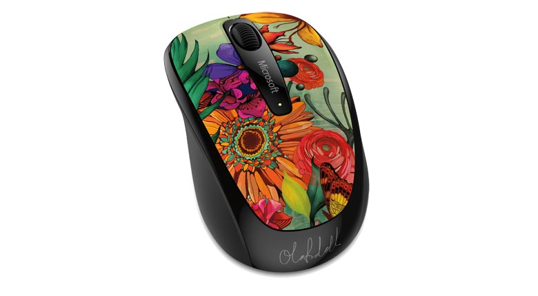 Mouse Wireless Mobile 3500 Artist Olofstter - GMF-00376  - ShopNoroeste.com.br
