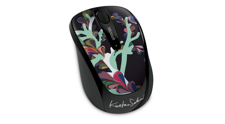 Mouse Wireless Mobile 3500 Artist Saksi - GMF-00329 - ShopNoroeste.com.br