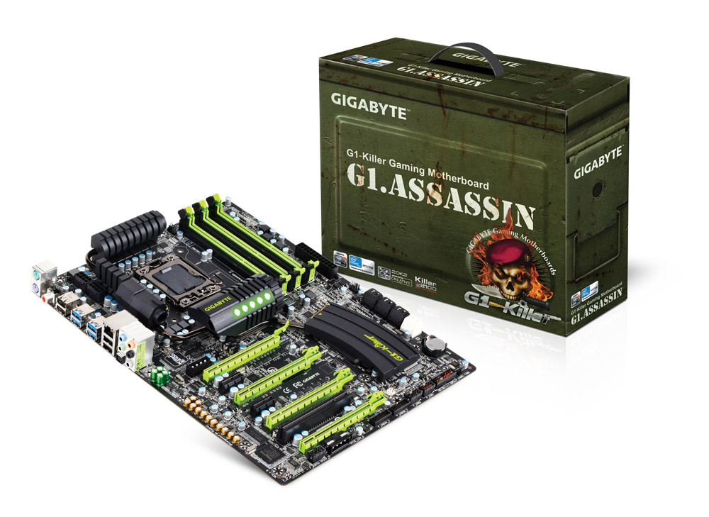 Placa Mãe Gigabyte LGA1366 G1 Killer Assassin  - ShopNoroeste.com.br