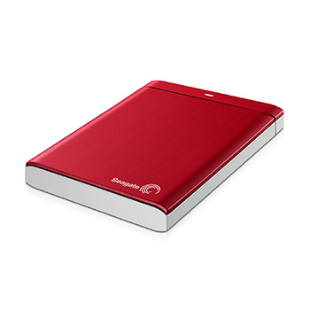 HD Externo Seagate 1TB USB 3.0 STBU1000103 Vermelho  - ShopNoroeste.com.br