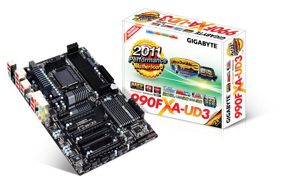 Placa Mãe Gigabyte AM3mais GA-990FXA-UD3  - ShopNoroeste.com.br