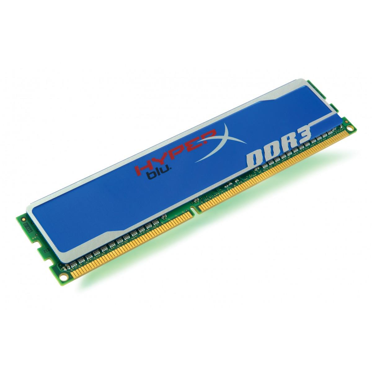 Memória Kingston Hyper X 8GB 1600 Mhz DDR3 - KHX1600C10D3B1/8G  - ShopNoroeste.com.br