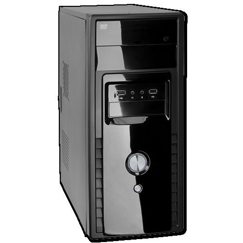 Gabinete ATX Wisecase FT404 RJAC-308 Fonte 220W 4 Baias  - ShopNoroeste.com.br