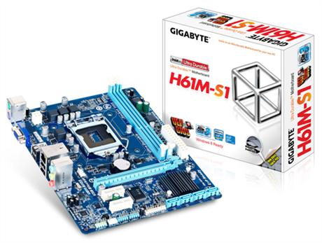 Placa Mãe Gigabyte GA-H61M-S1 LGA1155  - ShopNoroeste.com.br