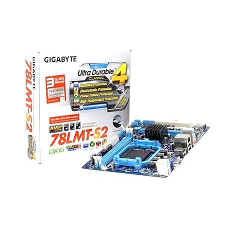 Placa Mãe Gigabyte GA-78LMT-S2 AM3+ Box  - ShopNoroeste.com.br