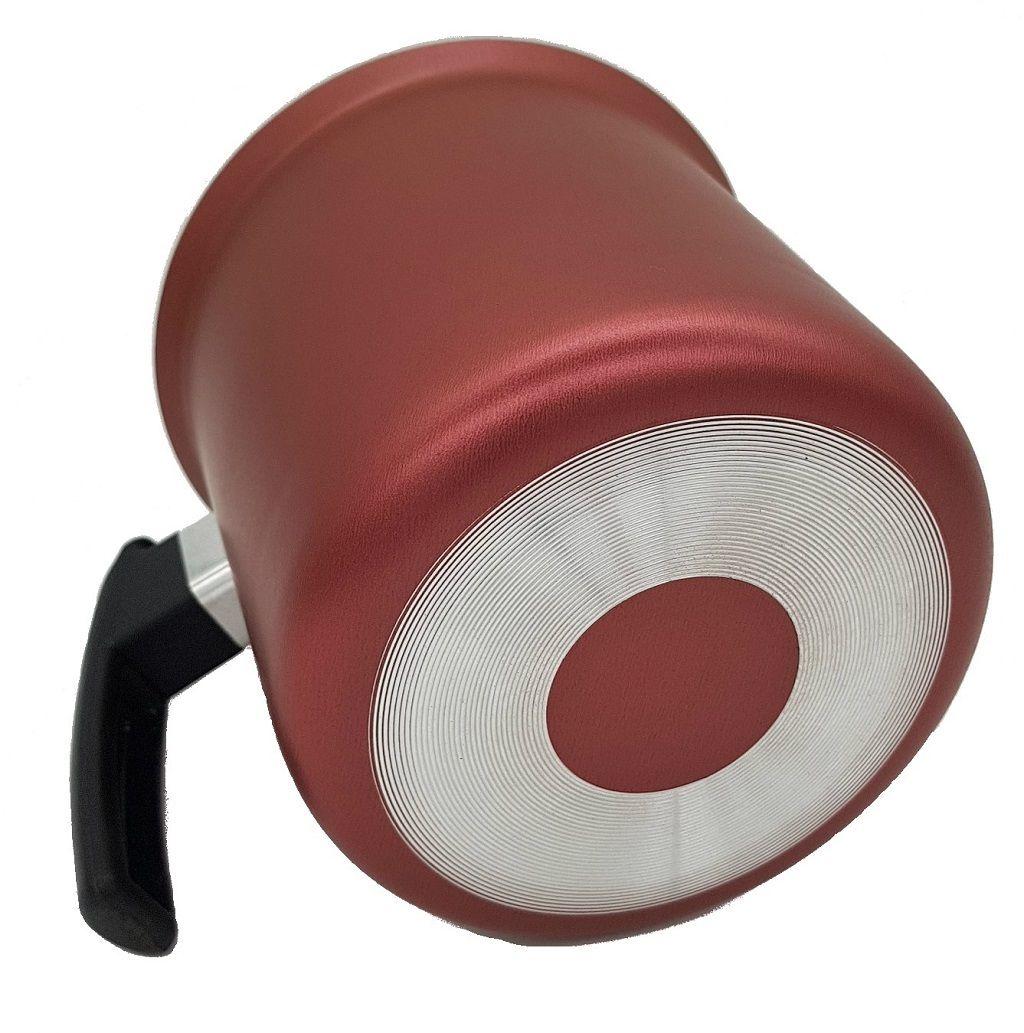 Canecão Vermelho Marlux Antiaderente 16 cm  - ShopNoroeste.com.br
