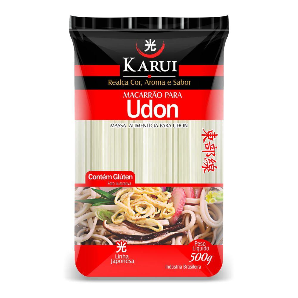 Macarrão Udon 500g Karui  - ShopNoroeste.com.br