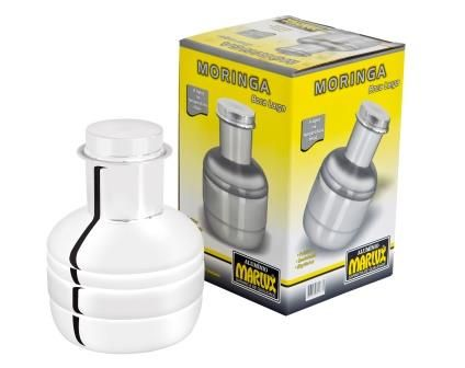 Moringa de Alumínio Polido 2,5 lts Para Água - Marlux   - ShopNoroeste.com.br