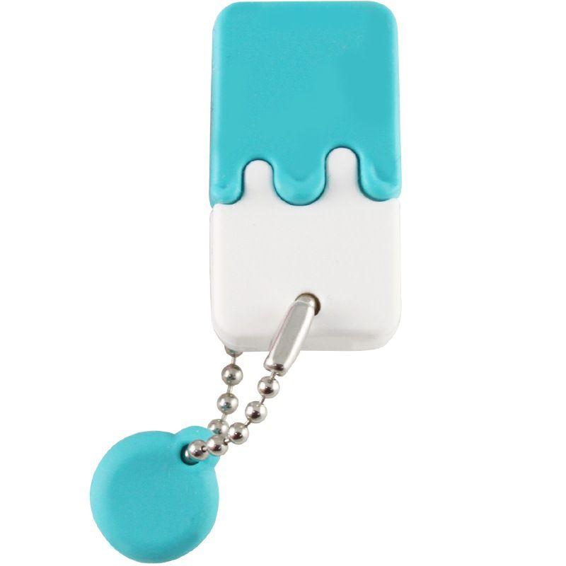 Pen Drive HP 32GB Sorvetinho USB 2.0 mini Azul V178B Prova d