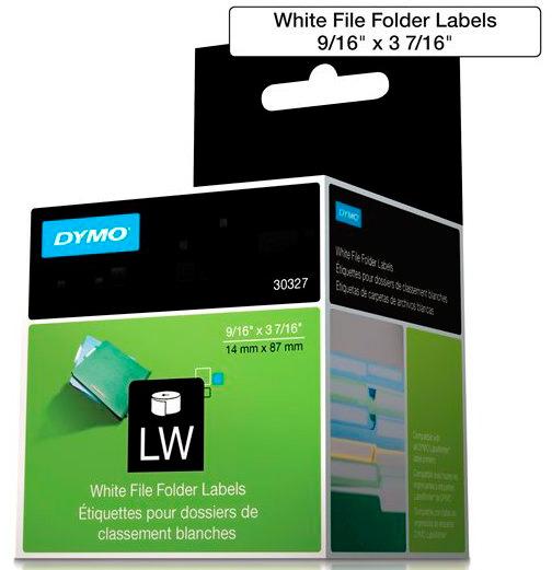 Etiqueta Dymo Labelwriter 30327 Para Arquivos 14x87mm