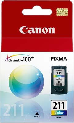 Cartucho de Tinta Canon CL-211 Tricolor