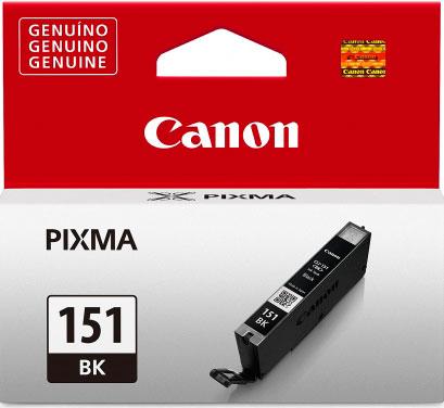 Cartucho de Tinta Canon CLI-151BK Preto