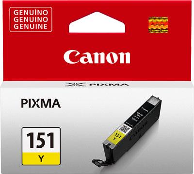 Cartucho de Tinta Canon CLI-151Y Amarelo