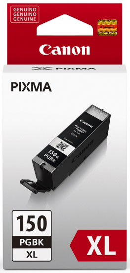 Cartucho de Tinta Canon PGI-150XL Preto de Alto Rendimento