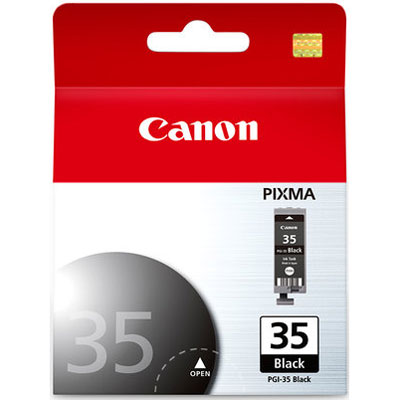Cartucho de Tinta Canon PGI-35 BK Preto iP100 iP110