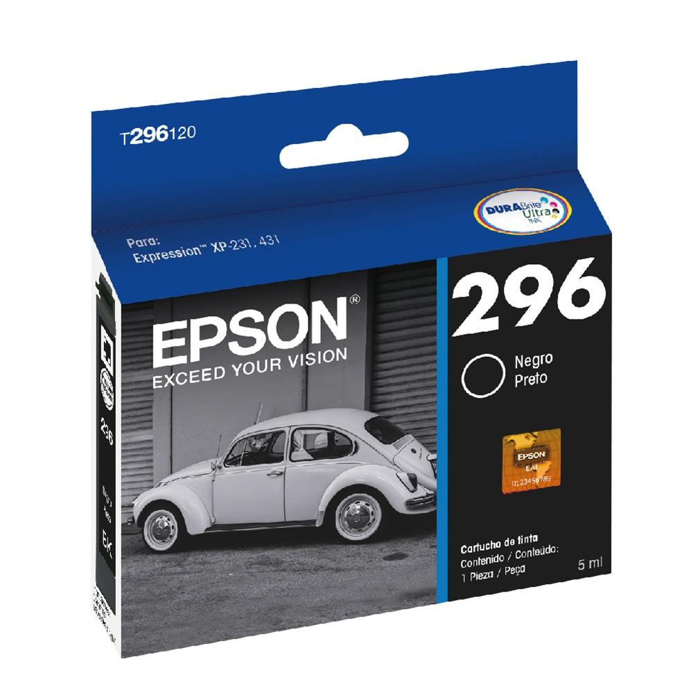 Cartucho de Tinta Epson T296120 Preto XP231 XP431