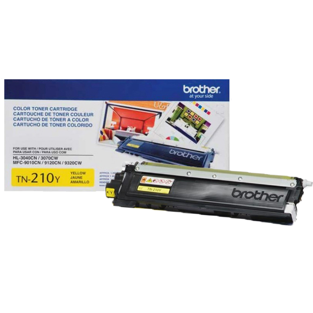 Cartucho de Toner Amarelo Brother TN-210Y HL3040 MFC9320