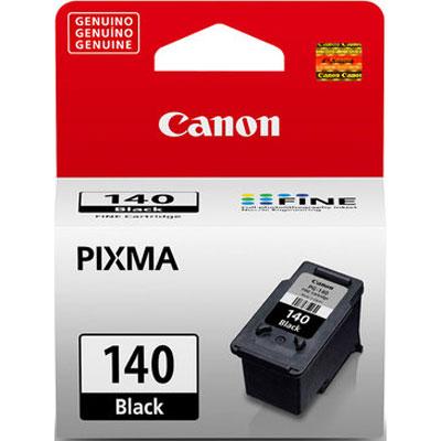 Cartucho Preto Canon PG-140 p/ MG3510 MX391 MX471 MX531