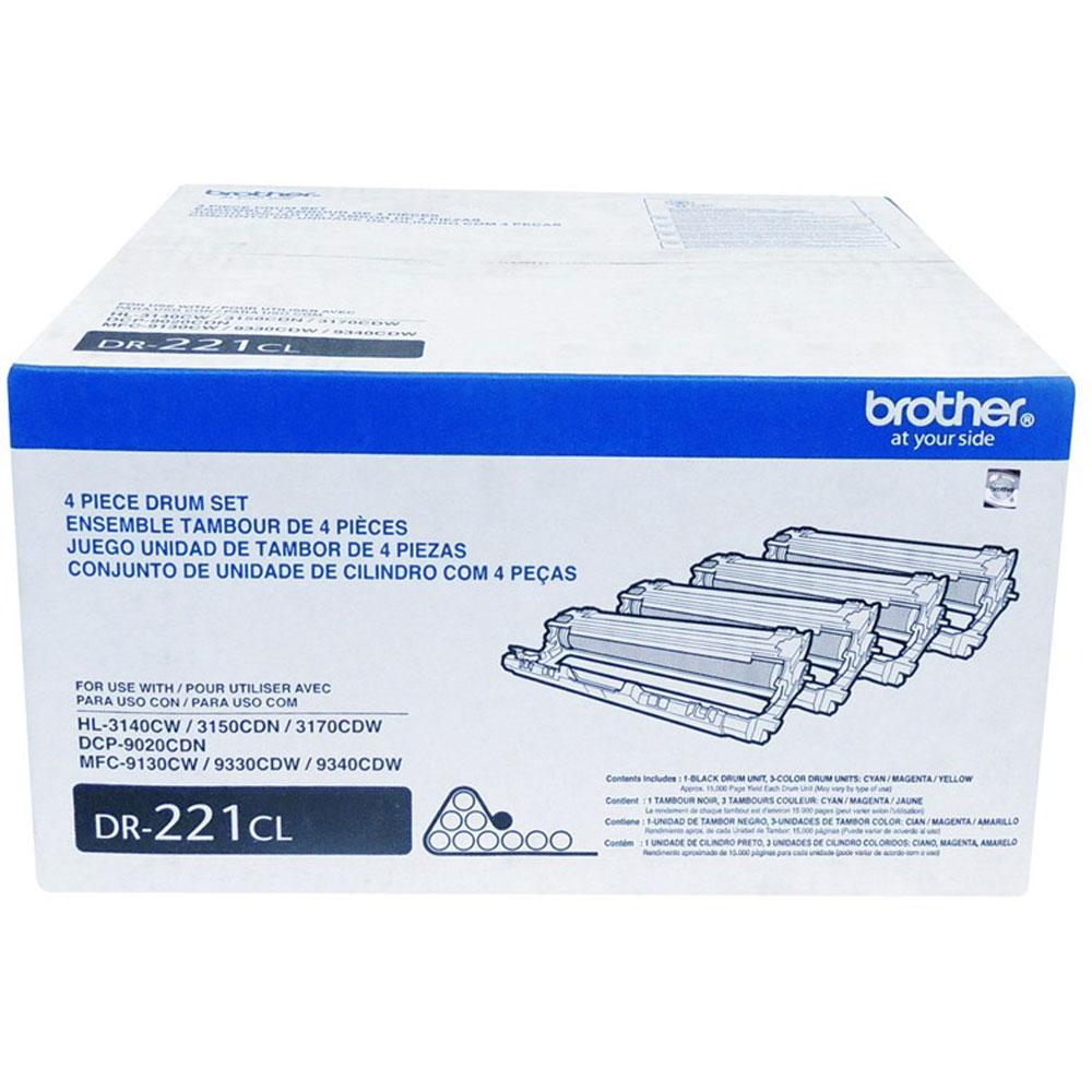 Cilindro de Impressão Brother DR-221CL HL3140 MFC9330