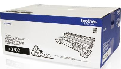 Cilindro de Impressão Laser Brother DR-3302 30.000pg