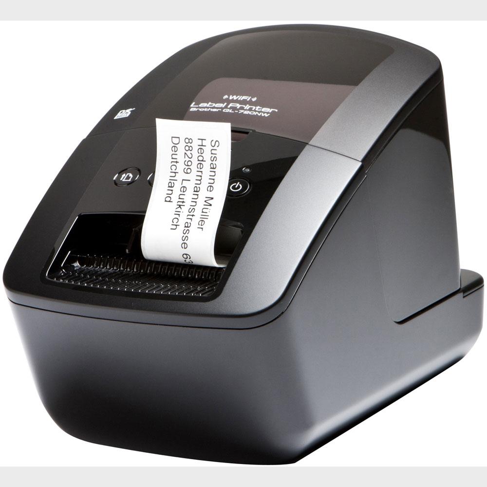 Impressora de Etiquetas Brother QL-720NW Wireless