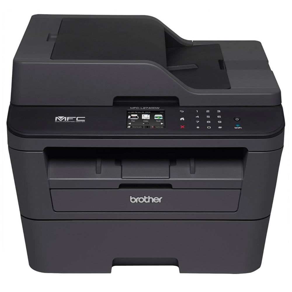 Multifuncional Laser Brother MFC-L2740DW 30ppm Fax Wi-FI