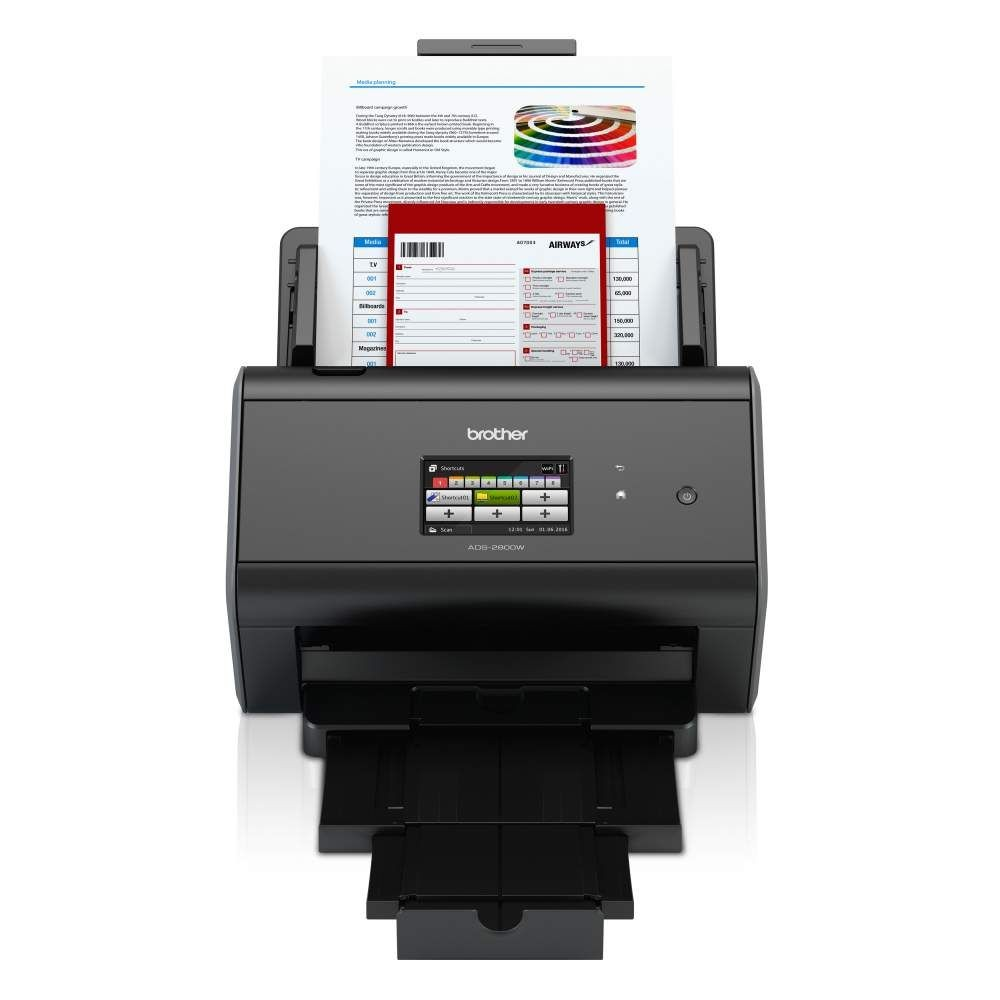 Scanner Alta Velocidade Brother ADS-2800W Wi-fi