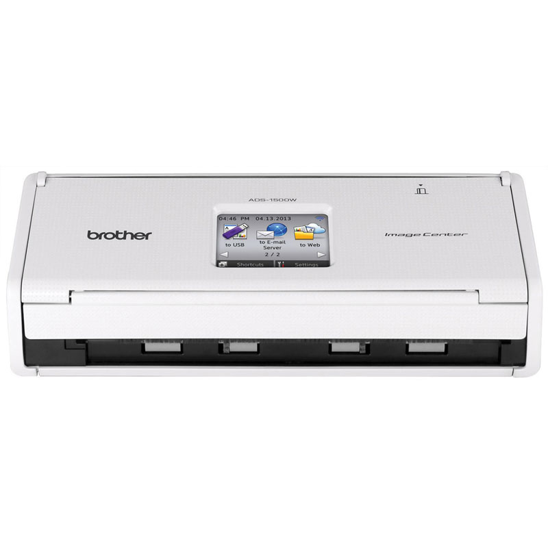 Scanner Compacto de Mesa Brother ADS-1500W