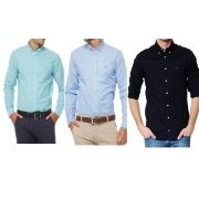 KIT 03 CAMISA SOCIAL TOMMY SLIM