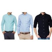 KIT 05 CAMISA SOCIAL TOMMY SLIM