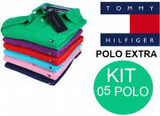 KIT 05 POLO TOMMY EXTRA GRANDE