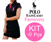 KIT 10 VESTIDOS RALPH LAUREN