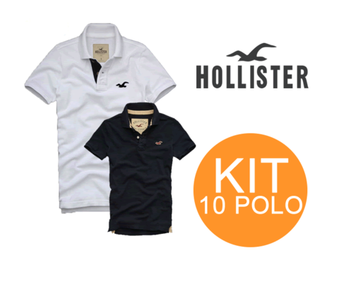 KIT 10 POLO HOLLISTER  - Rafael Maciel