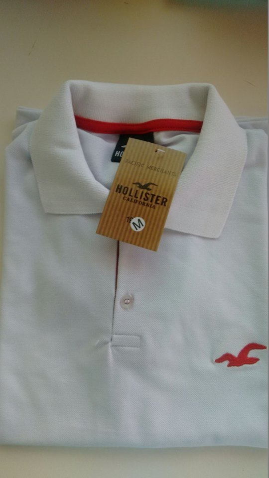 KIT 10 POLO HOLLISTER - Maicon Fernando Pedroso