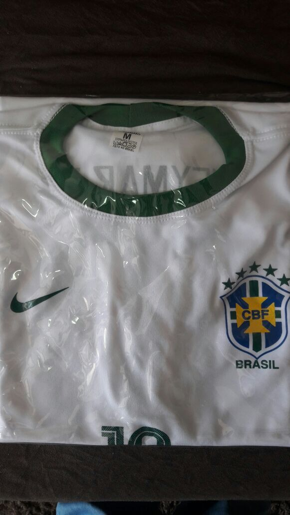 CAMISETA DO BRASIL 2° LINHA  - Rafael Maciel