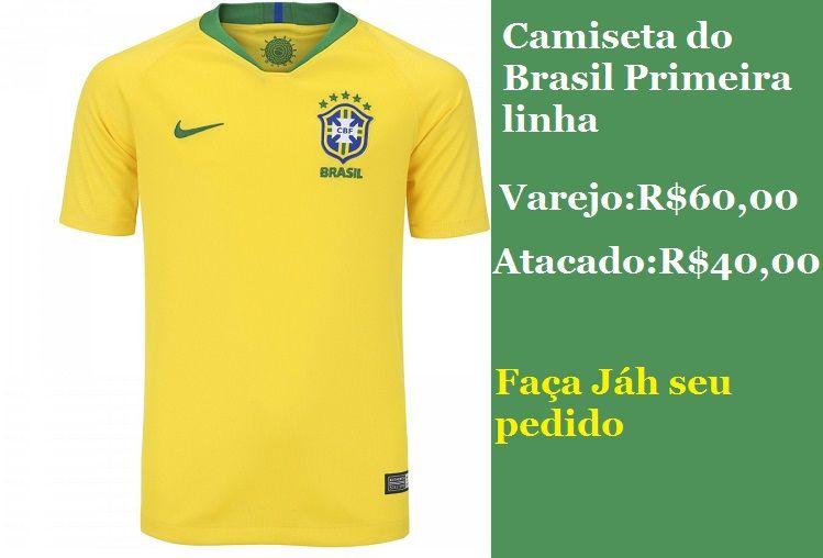 KIT 05 CAMISAS DO BRASIL 1º LINHA  - Maicon Fernando Pedroso