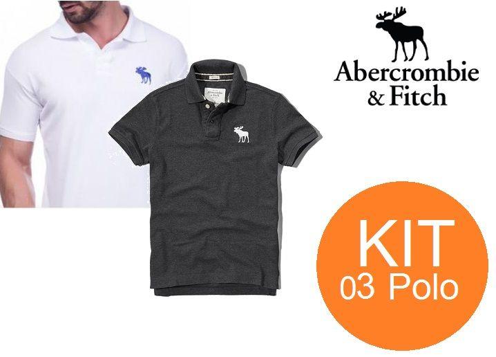 KIT 05 POLOS ABERCOMBIE  - Maicon Fernando Pedroso