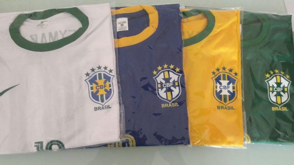 KIT 50 CAMISAS DO BRASIL 2º LINHA   - Maicon Fernando Pedroso