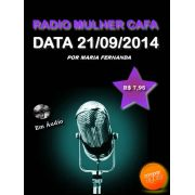 Programa Radio Mulher CAFA 21/09/2014