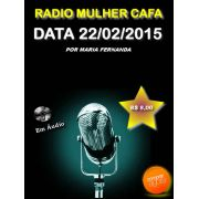 Programa Radio Mulher CAFA 22/02/2015