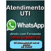 UTI WhatsApp 02 Mensagens de Voz ou escrita Total 06 minutos Segunda a Sexta