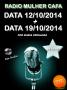 Programa Radio Mulher CAFA 12/10/2014 + 19/10/2014