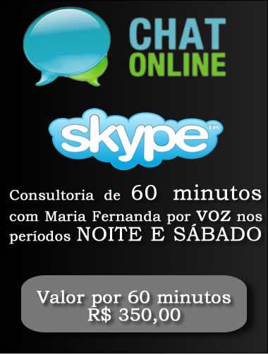 Consultoria Skype digitando ou voz  Período Noturno 60 Minutos  - Fazer um homem correr atrás