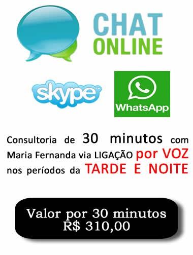 Consultoria Skype Whatsapp digitando ou voz  Período Noturno 30 Minutos.  - Fazer um homem correr atrás