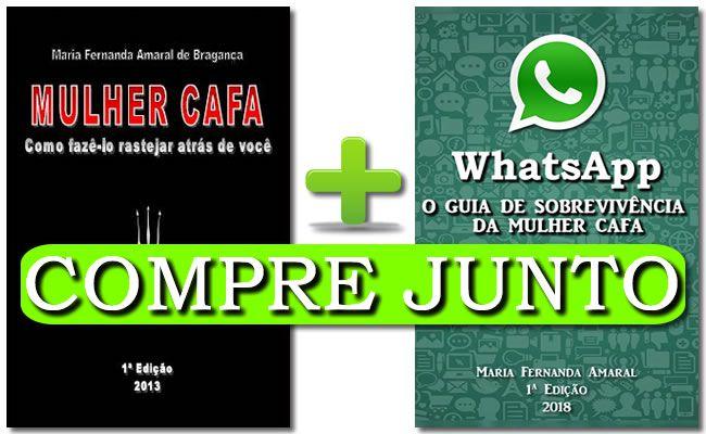 e-books Mulher Cafa + WhatsApp COMPRE JUNTO COM DESCONTO  - Fazer um homem correr atrás