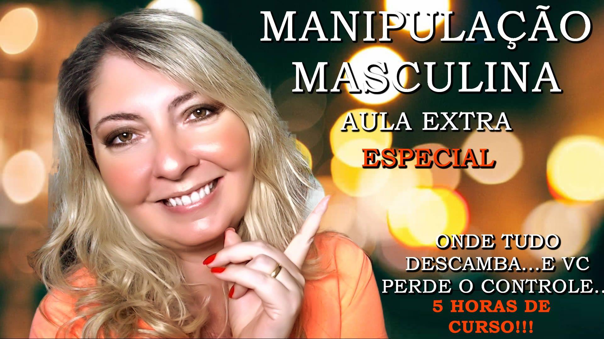 Manipulação Masculina Aula EXTRA Especial com 13 Capítulos e 05 horas de áudio  - Fazer um homem correr atrás